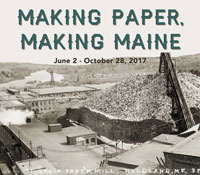 Making Paper Making Maine online exhibit