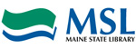 Maine State Library logo