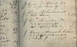 William Whittier's Day Book circa 1845