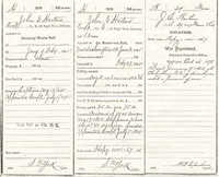 John Edward Horton's Military Discharge Papers