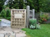 Thuya Garden Entry Gate, ca 2012