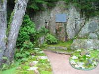Charles K. Savage Memorial:  Thuya Garden, ca 2012