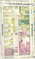 Sanborn Fire Map, Portland, 1877