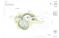 Architectural drawing of the reconfigured Jacob Cousins Memorial