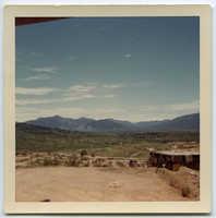 View from LZ uplift firebase, Vietnam, 1970