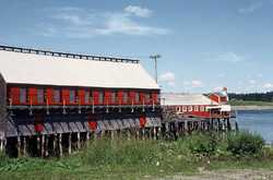 McCurdy's Smokehouse from the south in 1990