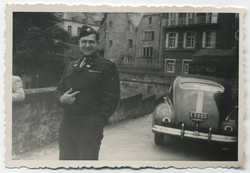 Mel Stone in Luxembourg, summer 1947