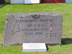 Easternmost Point Stone