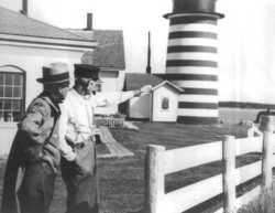 Lightkeeper Eugene Larrabee