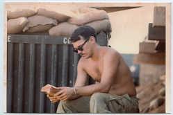 Doug Rawlings LZ Uplift, Vietnam, 1970