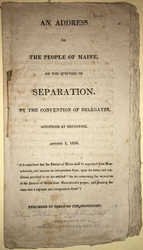 Anti-Separation Pamphlet, 1816