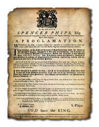 Phips Proclamation, 1755