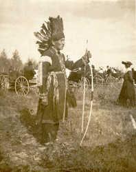 Tomah Joseph, Passamaquoddy, circa 1910