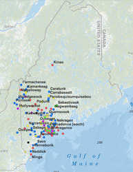 Learn about Wabanaki Place Names of Western Maine