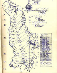 Solomon Cushing Survey of North Lubec, 1795