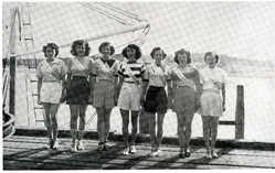 The Seven Sardine Queen Contestants