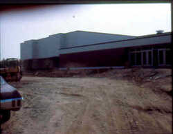 New Mattanawcook Academy building during construction