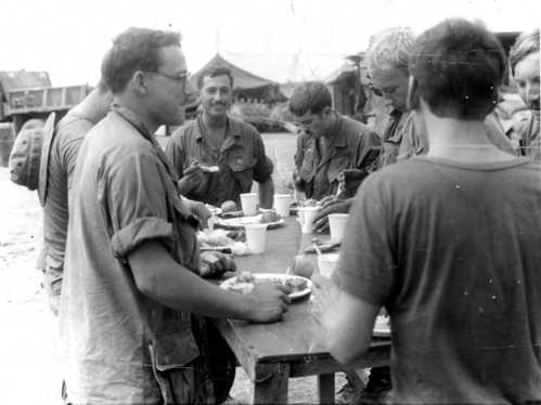 Serving in Vietnam with Richard Hershel Green