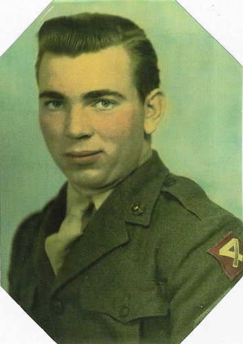 My father, Earle Ahlquist, served during World War II