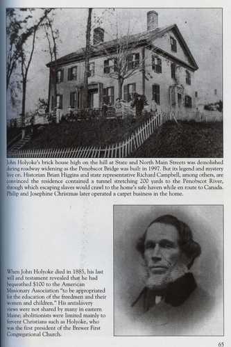 Brewer Abolitionist John Holyoke